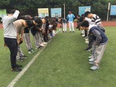 国际部开展棒球体验活动